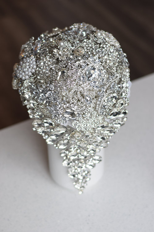 Crystal Tear Drop Bouquet