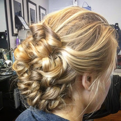 UPDO BY CRYSTAL