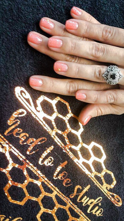 Shellac Manicure by Amber