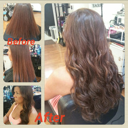 HAIR EXTENSIONS By Mel