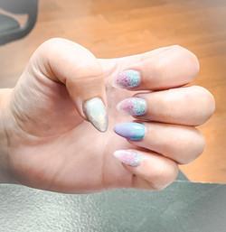 Acrylic Manicure by Amber