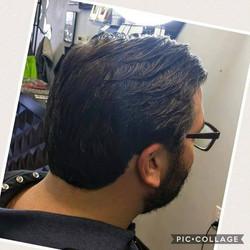 Men's Haircut by Crystal