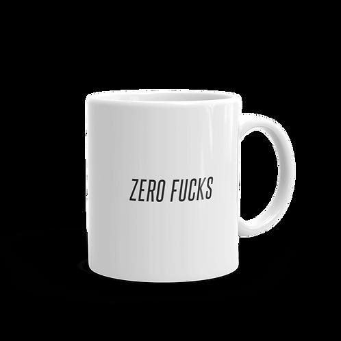 Zero Fucks Mug
