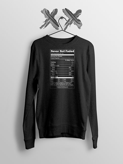 Faded Nutrition Sweater