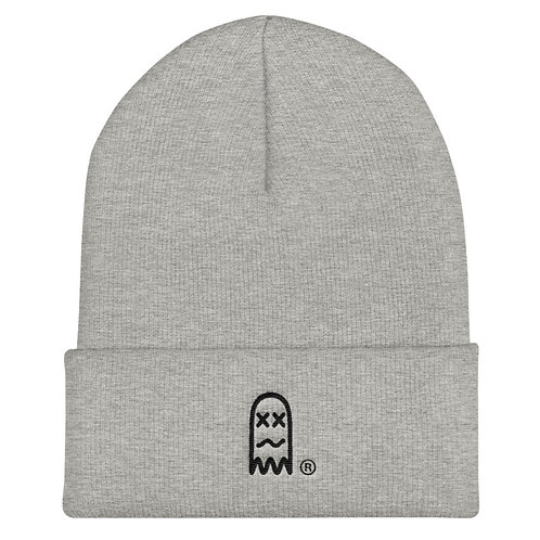 Faded Ghost Knitted Beanie