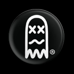 Faded Ghost Mini Button