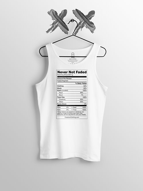 Faded Nutrition Tank Top