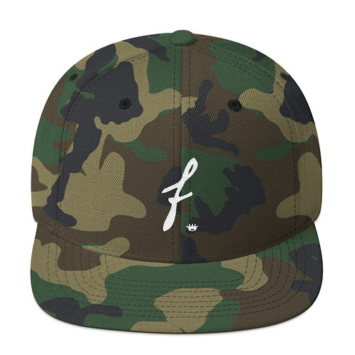 F Crown Snapback Hat