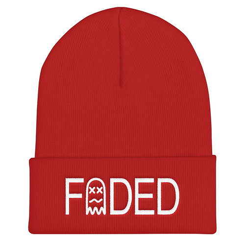 Faded Stamp Knitted Beanie