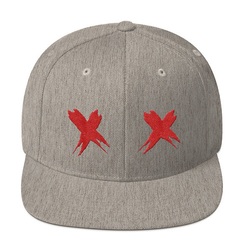 Exes Over Eyes Snapback Hat