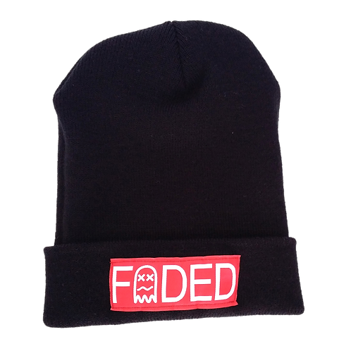 Faded Stamp Sewn Beanie