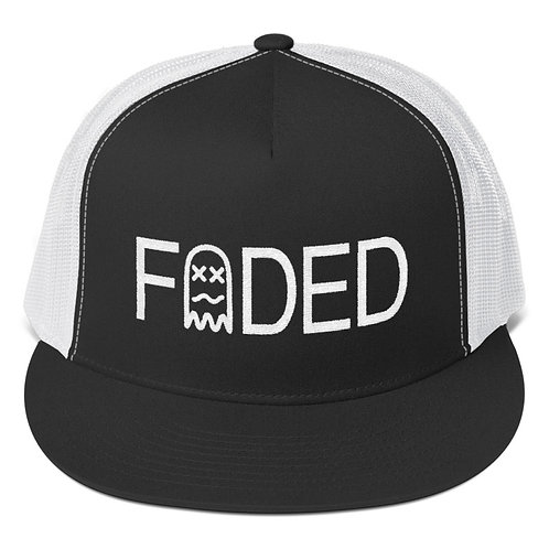Faded Stamp Trucker Mesh Hat