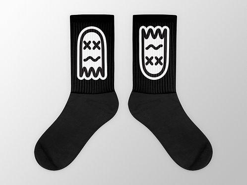 Faded Ghost Socks