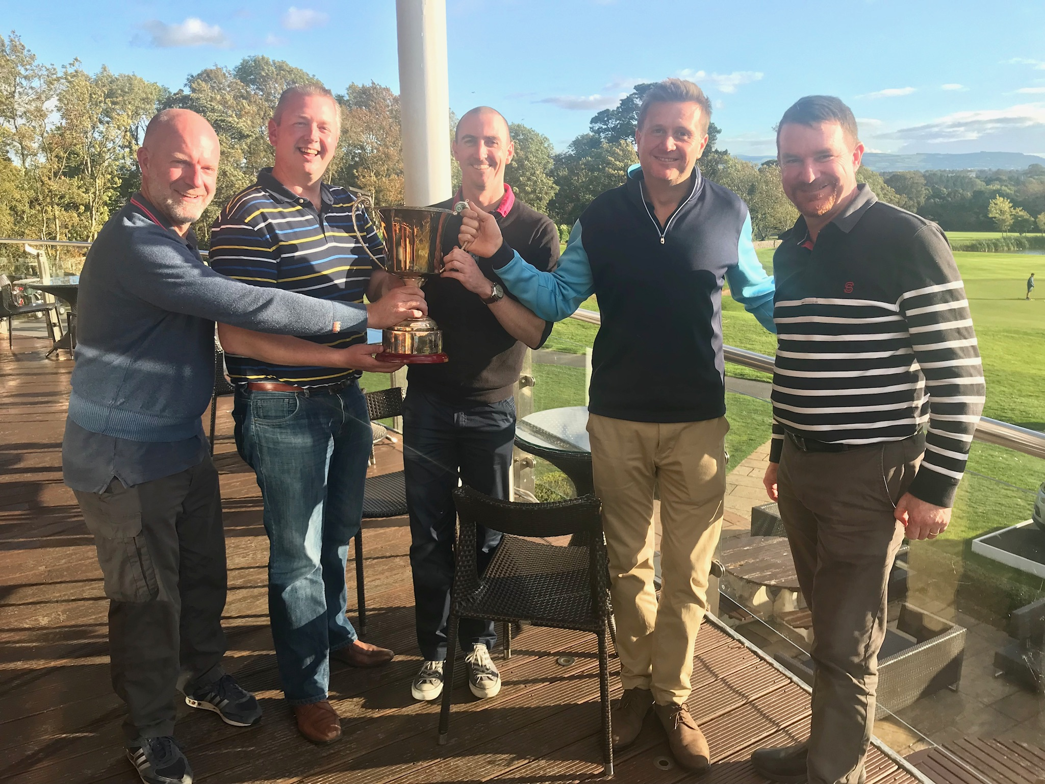 IAA Golf Day, Winning Team