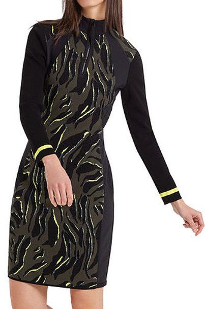Sukienka z printem Marc Cain