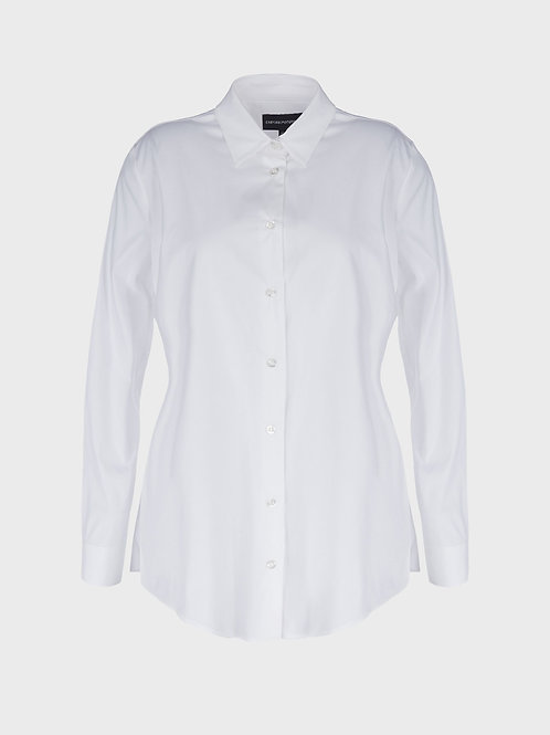 Popelinowa koszula Emporio Armani