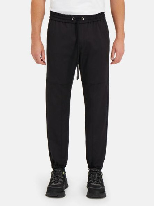 Czarne spodnie w stylu casual ICEBERG