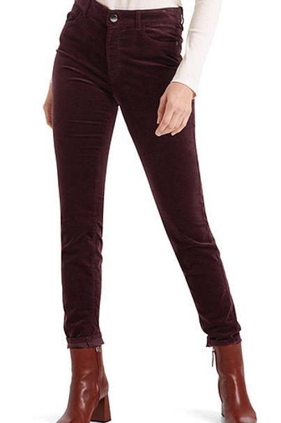 Spodnie welurowe Marc Cain