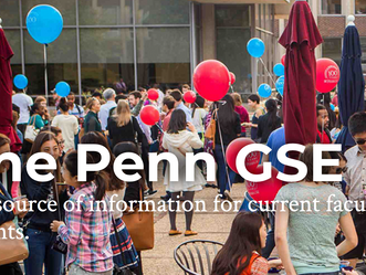 One PennGSE - A remarkable resource for current Penn faculty, staff and students