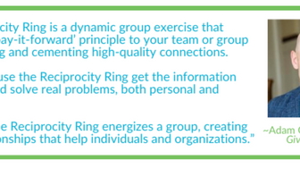 What an inspiring idea - Reciprocity Rings
