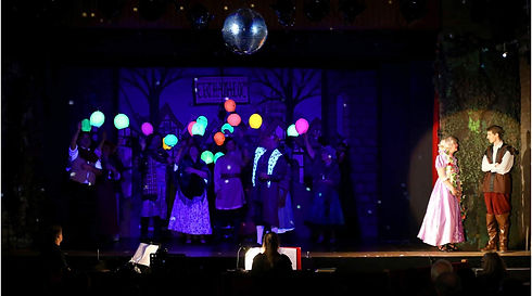 Necp Rapunzel performance - Lanterns