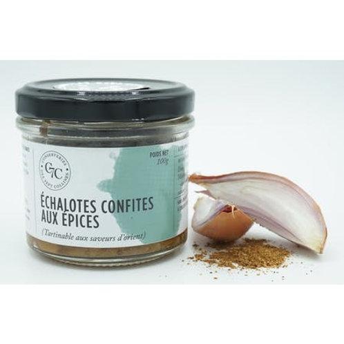 Echalotes confites aux épices | Conserveries des Sept Collines