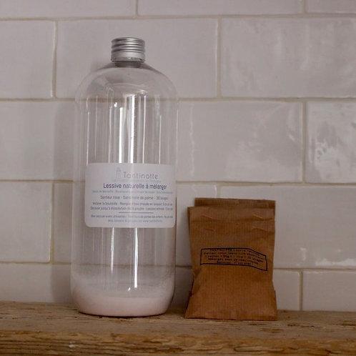 Lessive à mélanger en bidon   Tantinotte