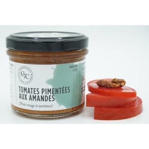 Tomates pimentées aux amandes   Conserveries des Sept Collines