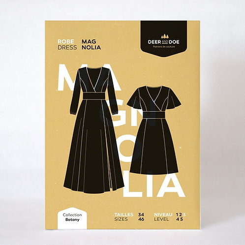 Patron : La robe Magnolia   Deer&Doe