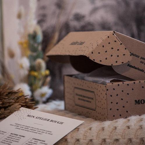 Kit DIY pour fabriquer 4 bougies naturelles   Atelier Louis