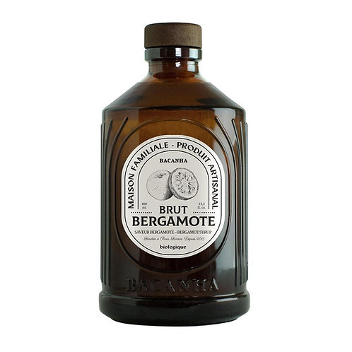 Sirop Bergamote   Bacanha