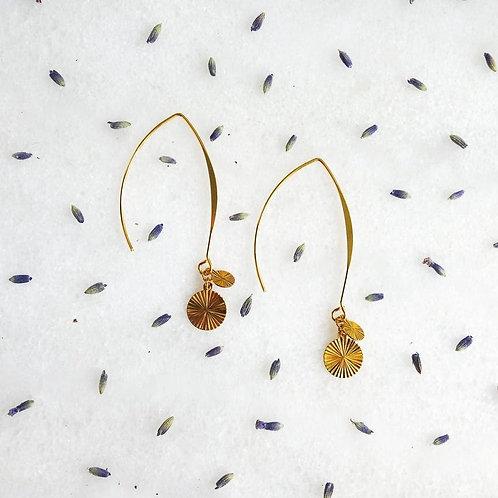 Boucles d'oreilles Oyat | Les Tissages de Camille