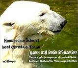 Hörbuch Kann ich einen Eisbären? Christoph Thoma