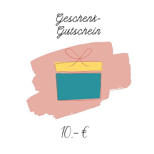 Geschenk-Gutschein (10 €)