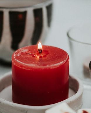 Betonlook onderzetten voor kaarsen Benie