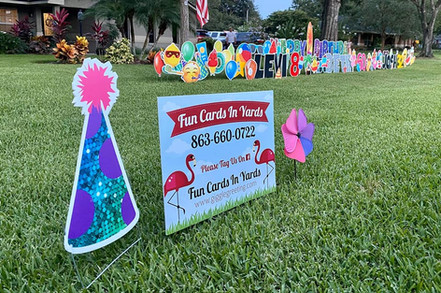 Contact Info for Fun Cards In Yards