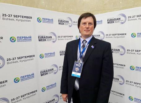 Интервью председателя «Евразийского Движения» Олега Лушникова