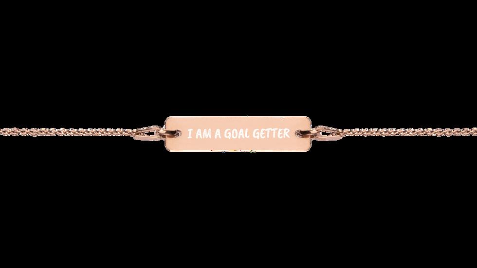 """Mantra Bracelet """"I am a Goal Getter"""""""