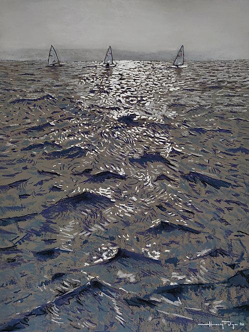 Three Small Boats, One Big Sea