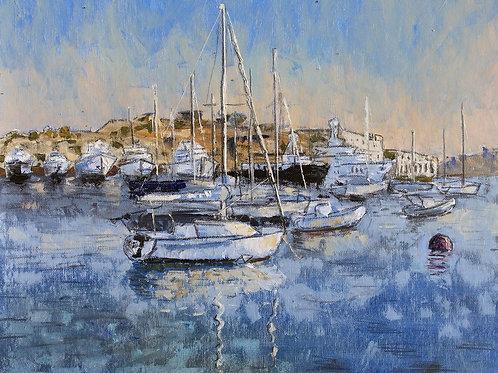 Boats at Manoel Island