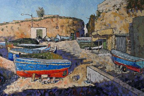 Boats and Cats at Lapsi