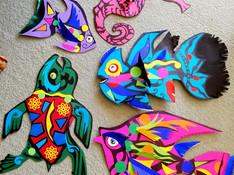 papirkunst fisker marine dyr.JPG