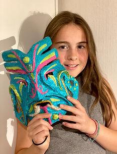 skulptur maske 2 foto Christine Baglo.JP