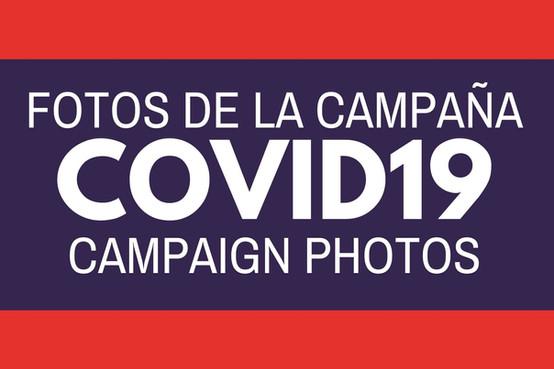 CAMPAIGN PHOTOS / FOTOS DE LA CAMPAÑA