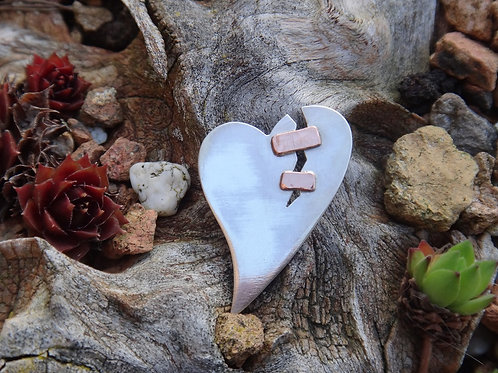 Mended Hearts w/ Copper Plate