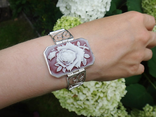Silver Wysteria Bracelet