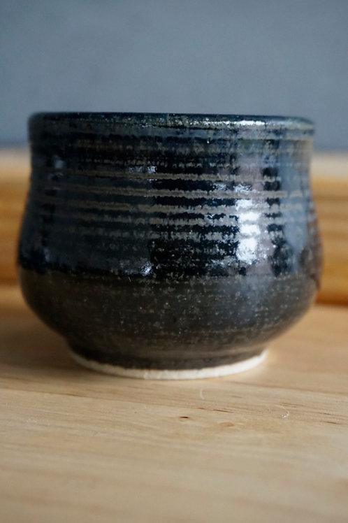 Japanese Tea Cup - Satin Black