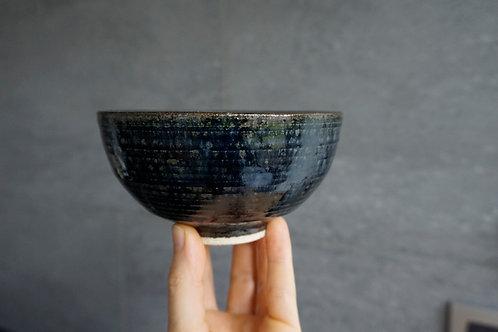Japanese Rice Bowl - Satin Black