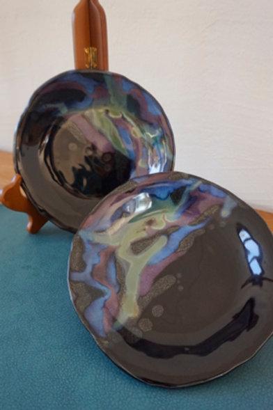 Ravioli Plates - Galaxy - Set of 2