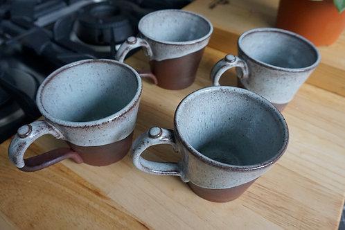 Tapered Mug - Sepia - Set of 4